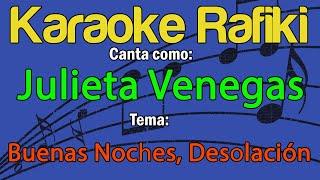 Julieta Venegas - Buenas Noches, Desolación Karaoke Demo