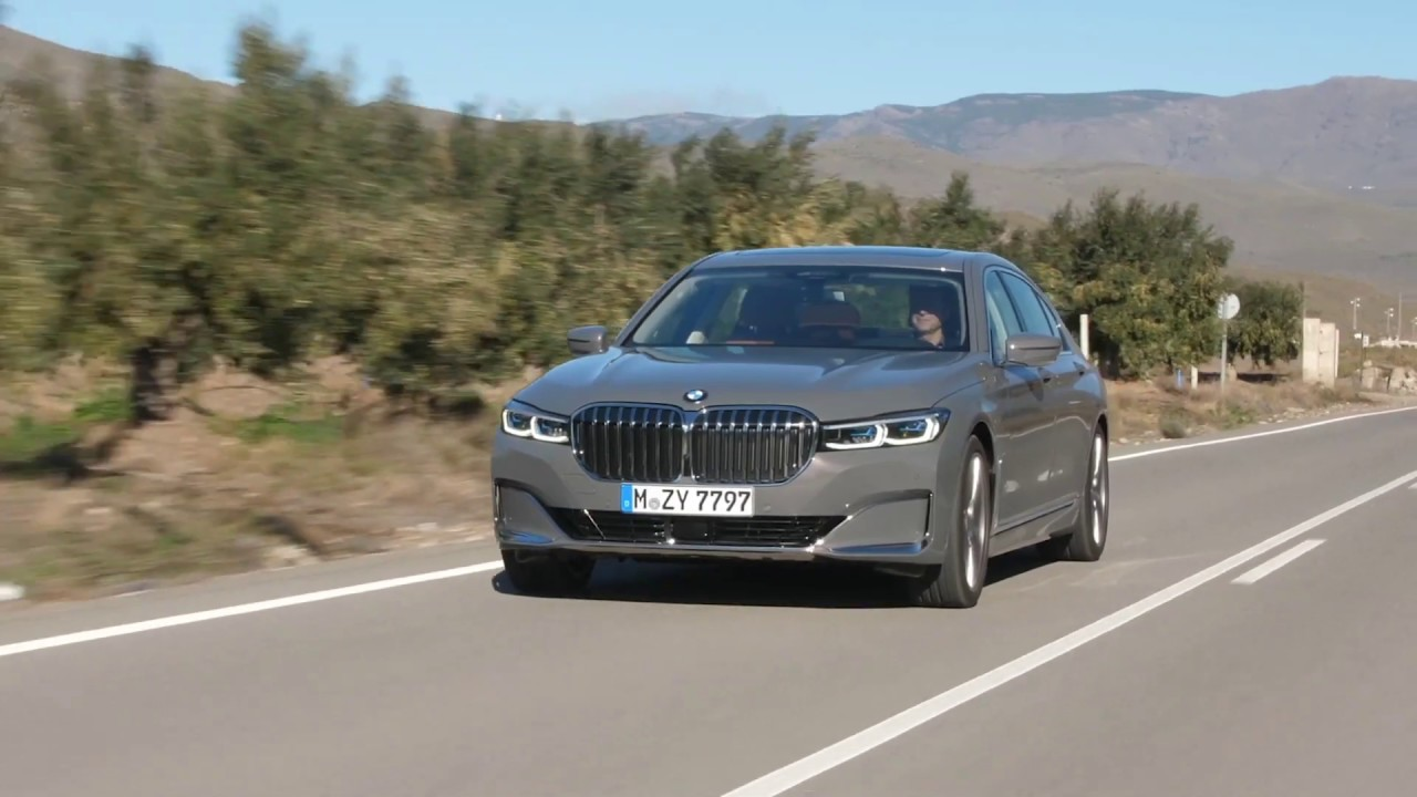 New 2020 Bmw 7 Series Driving Youtube