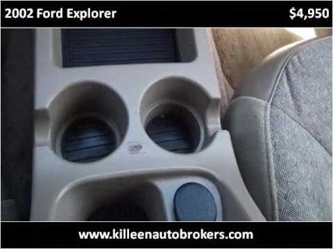 2002 Ford Explorer Used Cars Killeen TX