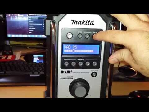 makita radio mit usb mp3 player modul funnydog tv. Black Bedroom Furniture Sets. Home Design Ideas