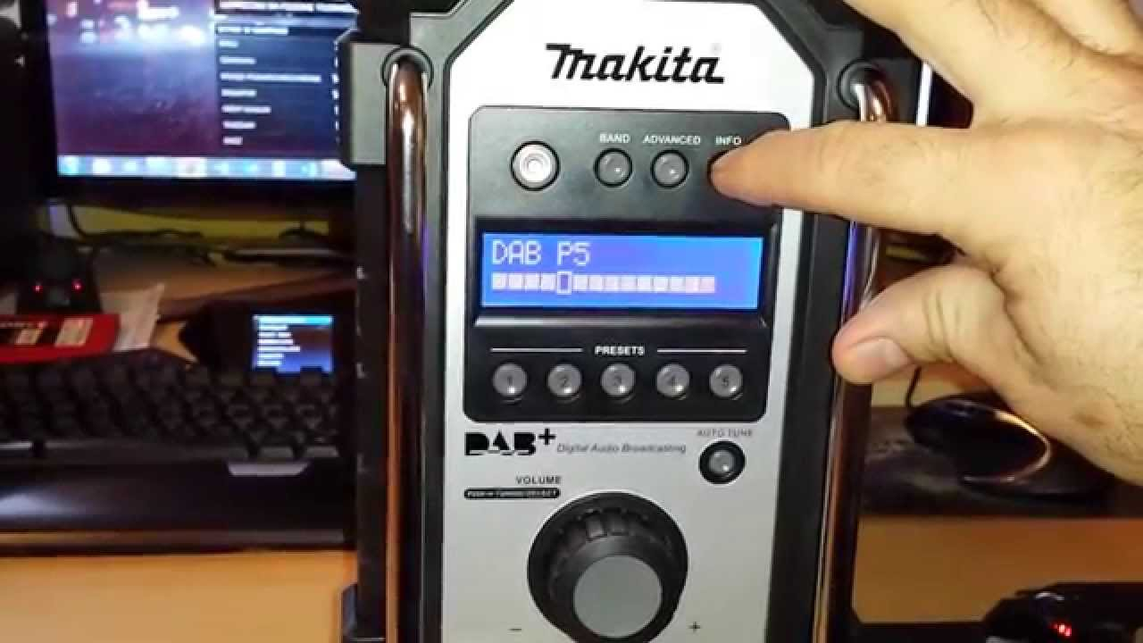 makita radio bmr 105 dab youtube. Black Bedroom Furniture Sets. Home Design Ideas