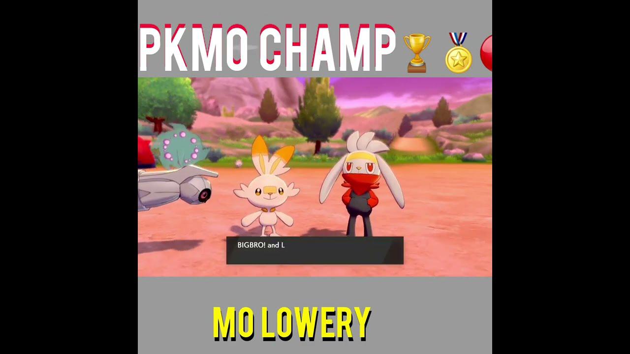 Mo Lowery:PKMo Champ🏆