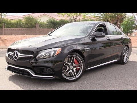 2016 Mercedes-AMG C63 S - Start Up, Road Test & In Depth Review