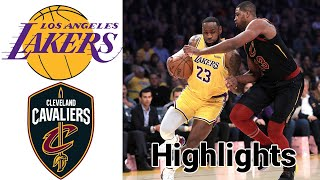 Lakers vs Cavaliers HIGHLIGHTS Full Game | NBA January 25