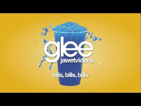 Glee Cast - Bills, Bills, Bills (karaoke version)