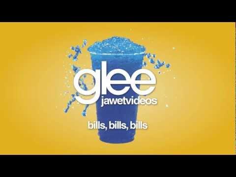 Glee Cast - Bills, Bills, Bills (karaoke version)