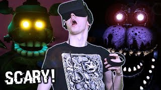 THE CURSE OF DREADBEAR IS HERE! || Five Nights at Freddy's VR: Help Wanted Halloween DLC
