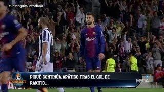 ¡EXCLUSIVA!  Piqué, IMPASIBLE en la VICTORIA del Barça contra la Juventus