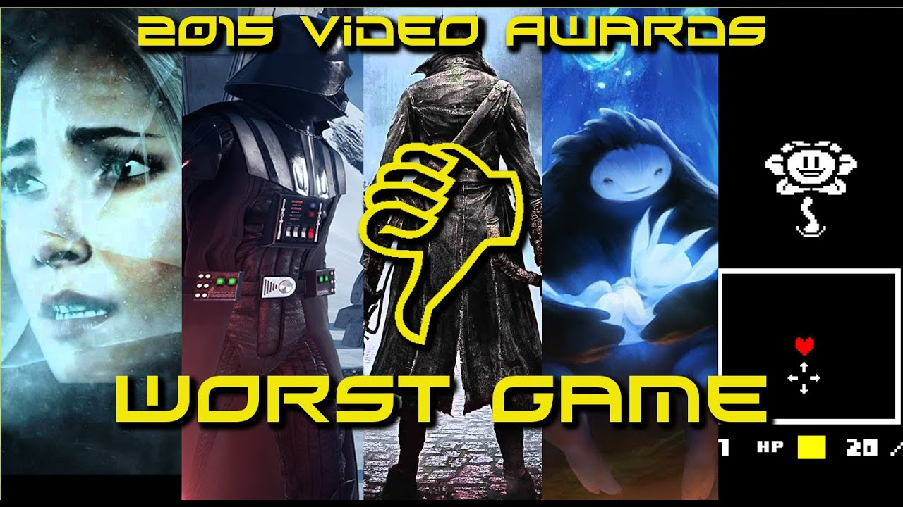 2015 ACG Videogame Awards Worst Game of the Year - YouTube