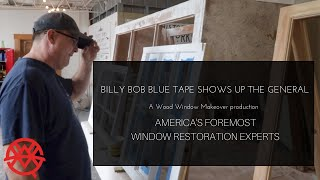 Method to Apply Blue Tape to a Window to Paint Fast!