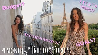 Q & A on our 4 Month Euro Trip (w/ Bri Colling)