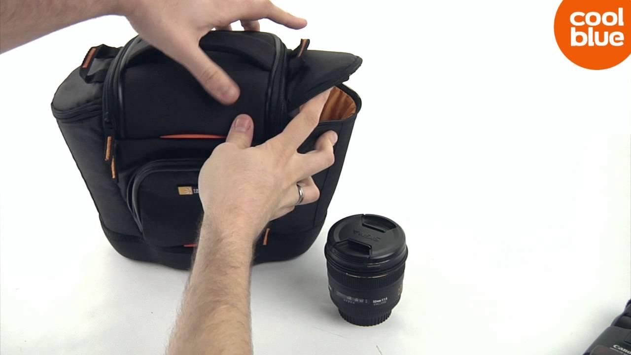 b03f5e0038 Case Logic SLRC-202 Camerabag M mini review en unboxing (NL BE ...