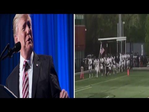 Adelphi Lacrosse Uses President Trump Speech As Entrance Music — Receives Big League Criticism