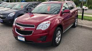 Red 2015 Chevrolet Equinox LT Review Oshawa ON - Roy Nichols Motors Ltd