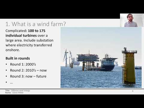 EPICentre Seminars - A Bayesian Model for Capacity Factors of Offshore Wind Energy (Dr David Wilkie)