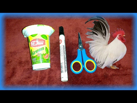Mainan Anak Membuat Ayam Dari Botol Plastik | Tutorial Ayam Dari Botol | Chickens Plastic Bottles