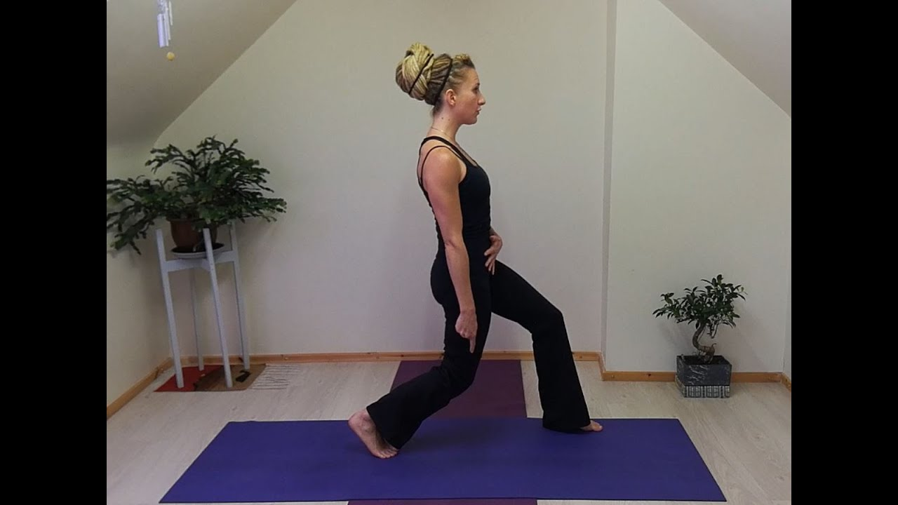 Pilates Lunge - Best Exercise for Strengthening the Knees