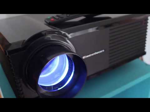 Excelvan PH580 LCD 3200 Lumens 2000:1 Led Projector 720p HDMI