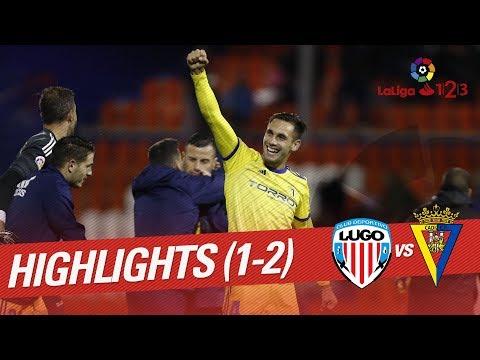 Resumen de CD Lugo vs Cádiz CF (1-2)