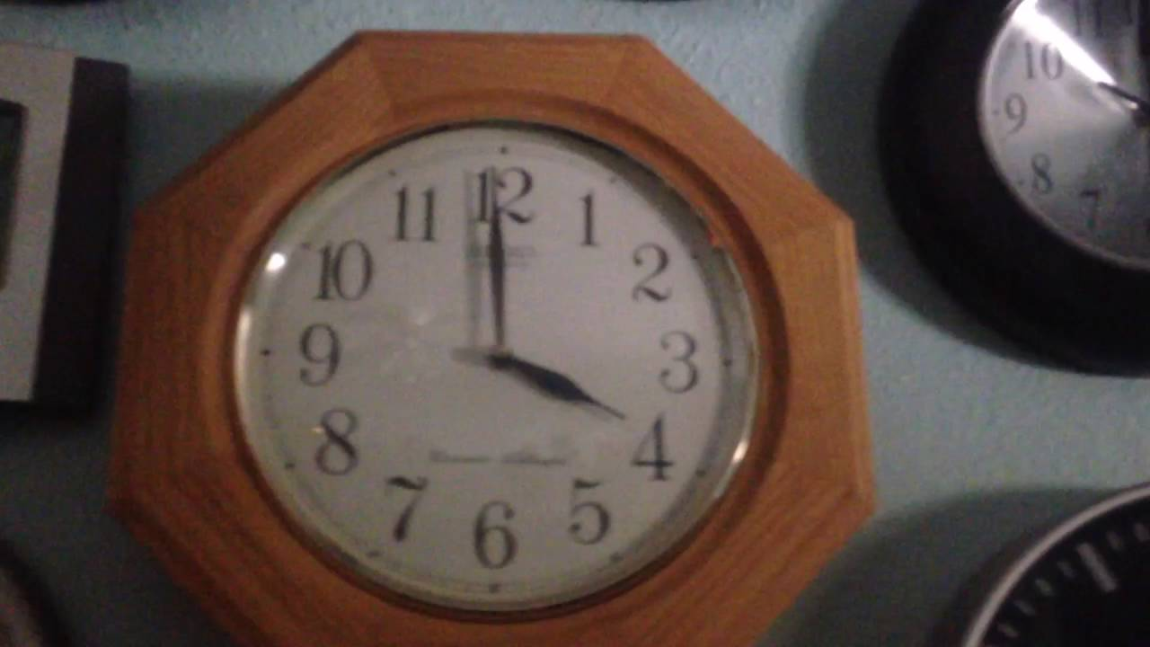 My Seiko Pendulum Clock And Other Clocks Youtube