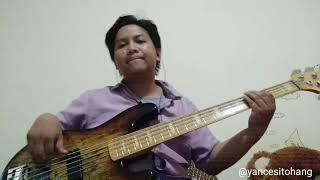 Marion jola Ft. Rayi Putra - jangan (Bass Cover)