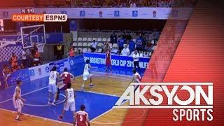 Gilas Pilipinas, bigong matalo ang Iran sa FIBA Asian Qualifiers
