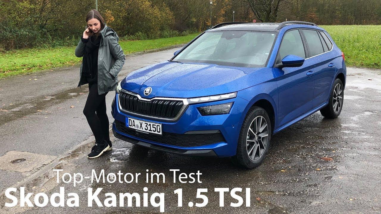 2020 Skoda Kamiq 1.5 TSI DSG (Style) Test / Lohnt sich 4-Zylinder-Motor? - Autophorie