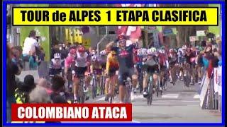 TOUR de los ALPES 2021 🌋 ETAPA 1 💥 NAIRO Quintana EL MEJOR ✅ CLASIFICACIONES