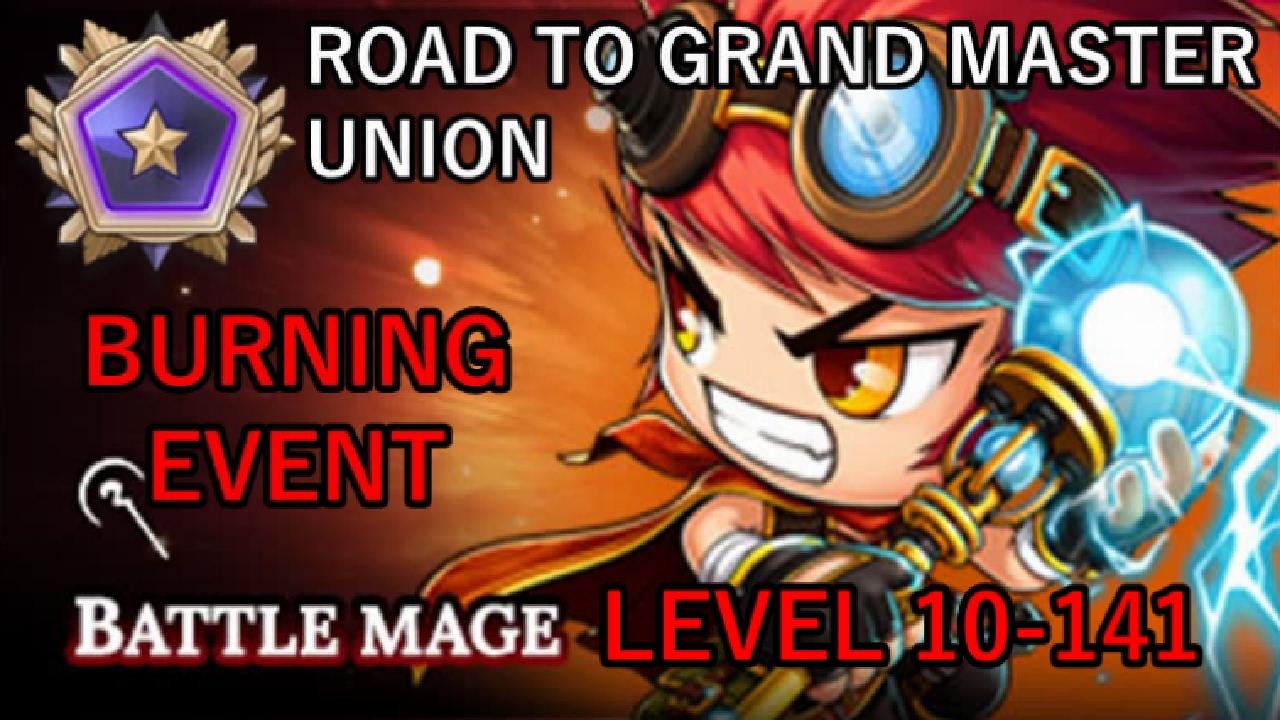 Maplestory battle mage 5th job skill union aura (aura scythe.