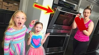 Baking the World's Biggest Cupcake Surprise!!!