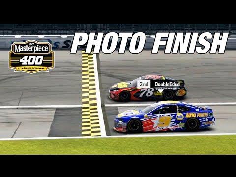 Intense Final Laps At Kansas | NASCAR Heat 3 Gameplay