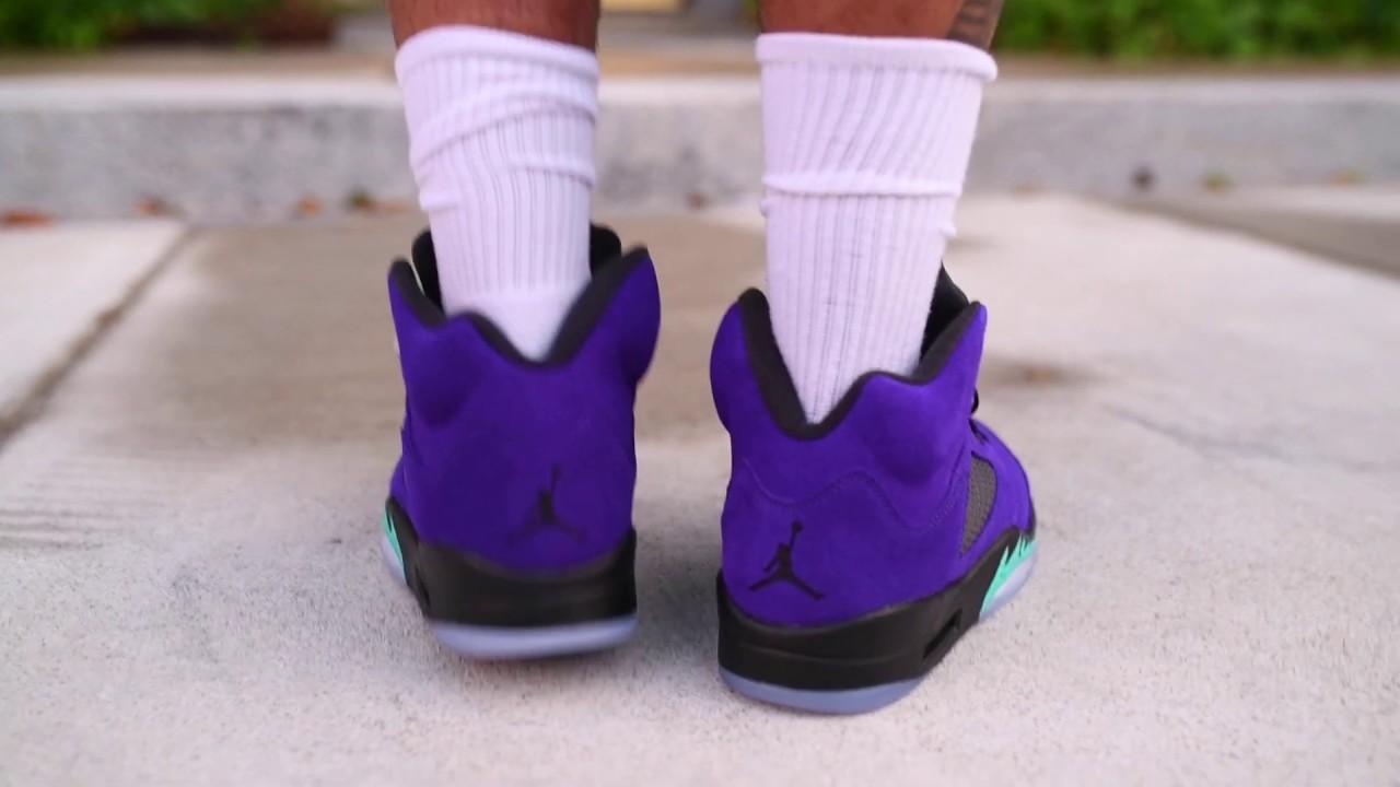 "Air Jordan 5 ""Alternate Grape"" (Dope or Nope) + On Foot !"