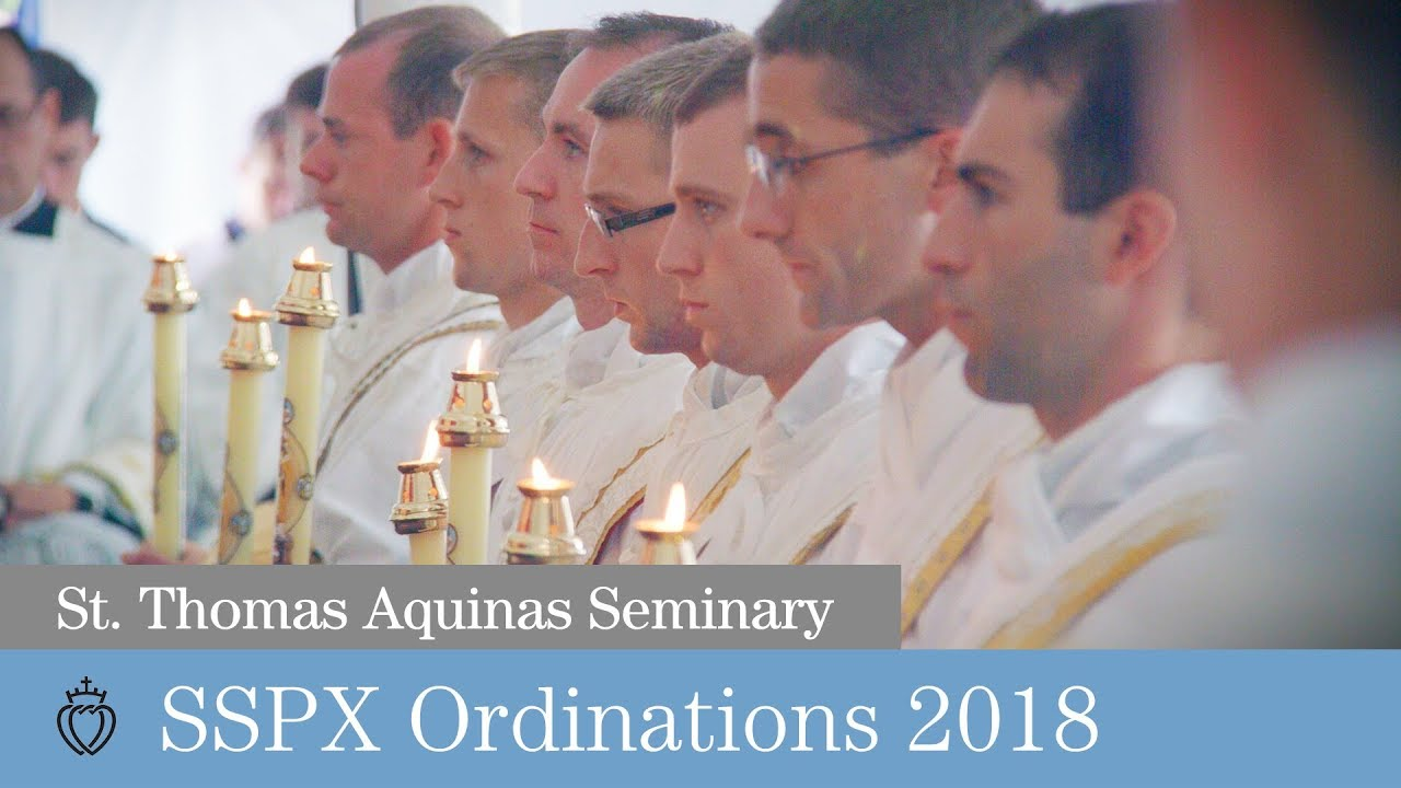 SSPX Ordinations 2018 - 7 New Priests from United States