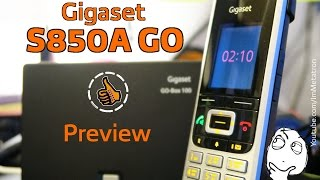 Gigaset S850A GO - Preview - DECT и IP телефония 2 в 1(, 2015-12-16T15:14:09.000Z)