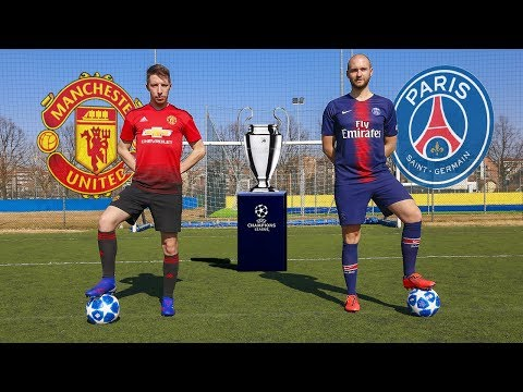 CAVANI VS POGBA | FREE KICKS Psg VS Manchester United