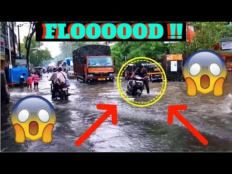 FLOODED IN VASAI !! !! JSK VLog 2