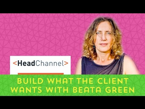 Remote interview with Beata Green of HeadChannel