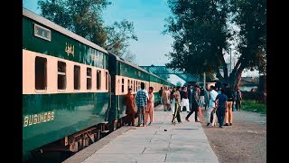 Fast Speed of Mehran Express - | Pakistan Railways |
