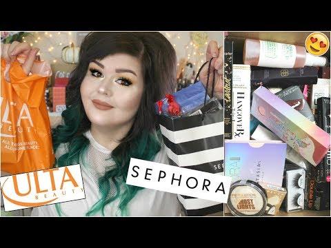 Huge Sephora and Ulta Haul | November 2017