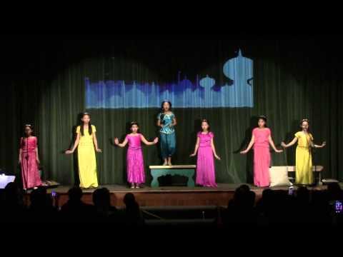 Woodbury Elementary Musical 2015 - Aladdin - Friday Night - Beyond these Palace Walls
