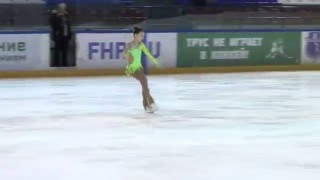 Фигурное катание. Маша Данилова, 10 лет, произвольная программа, КМС