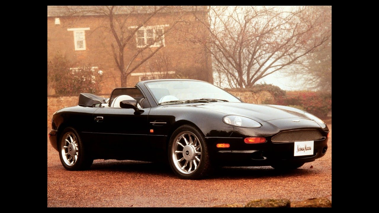 aston martin db7 convertible - youtube