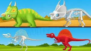 Children Learn About Dinosaurs - Dinosaur For Kids Games - Educational Videos Games for Children