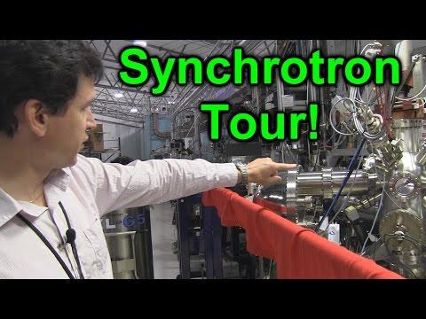 EEVblog #836 - Tour Of The Australian Synchrotron