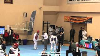 (5046)  W - 59kg Tekirdag vs Adana (2016 Turkish Junior TKD championships)