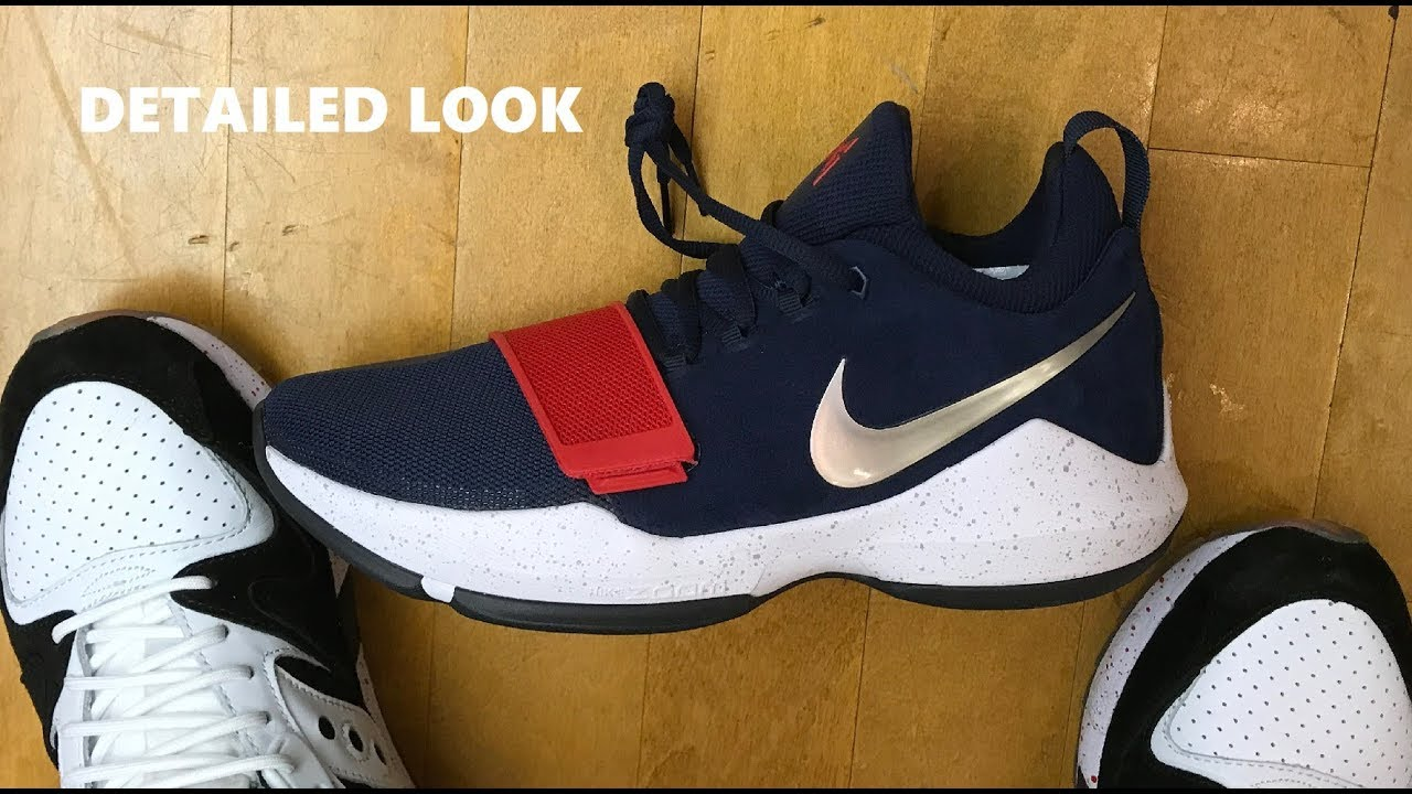 Nike PG 1 USA Sneaker Detailed Look