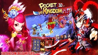 Pocket Kingdoms: War of Glory Gameplay (By MobGame) Android iOS