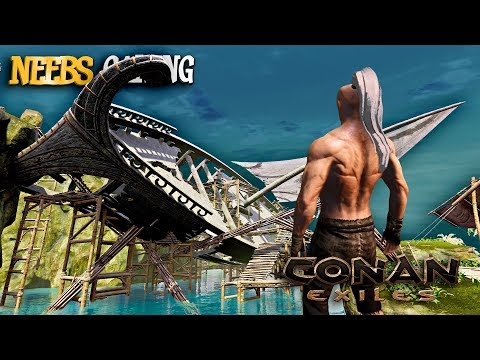 Conan Exiles: PIRATES!