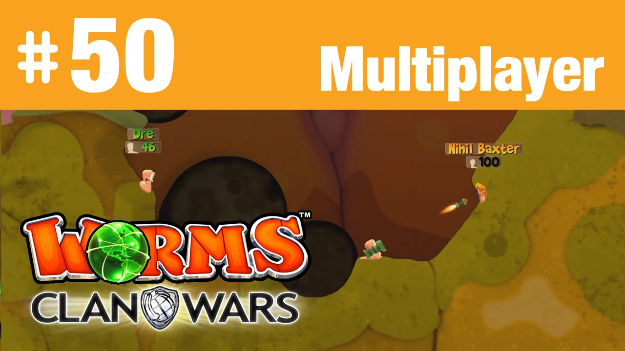 worms clan wars multiplayer hd 50 halli hallo hall le let 39 s play together youtube. Black Bedroom Furniture Sets. Home Design Ideas