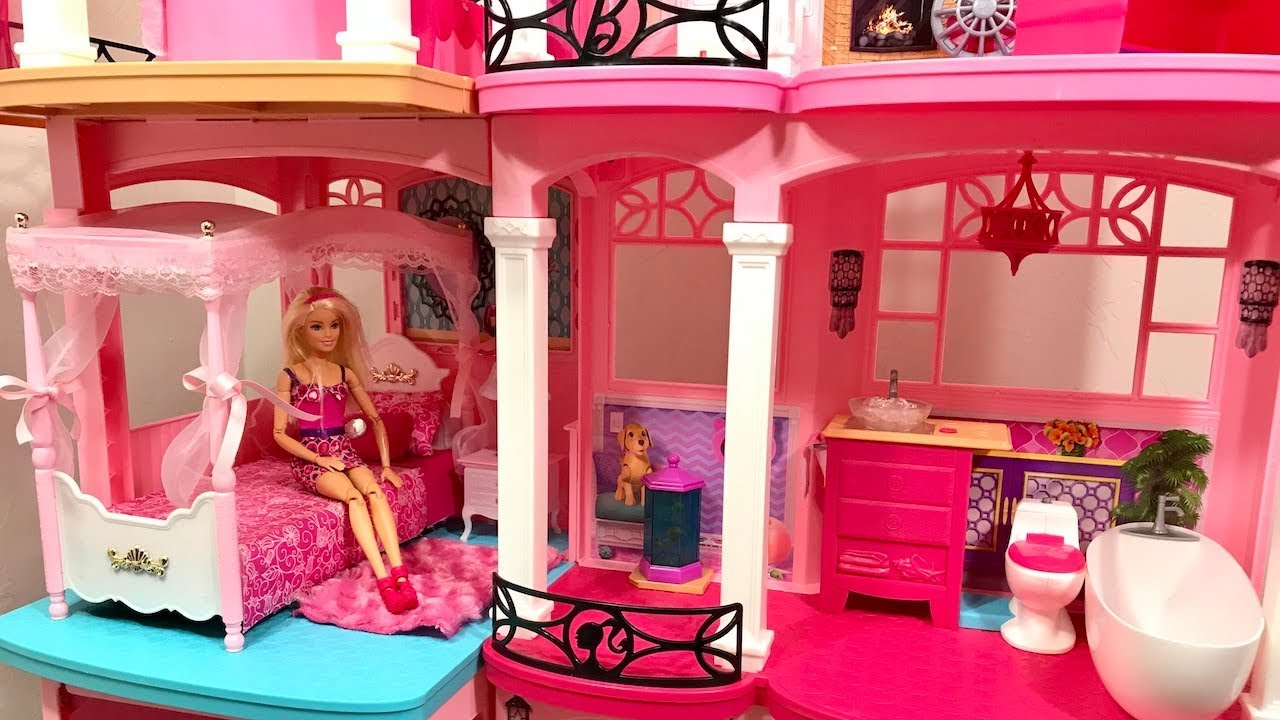 Barbie Dream House Toy Swap Pink Sets